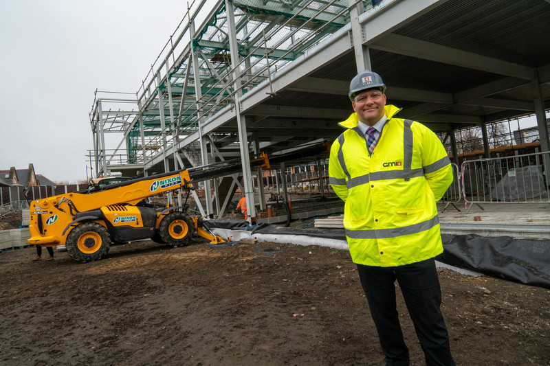 Lee Powell, Divisional Managing Director for GMI Construction