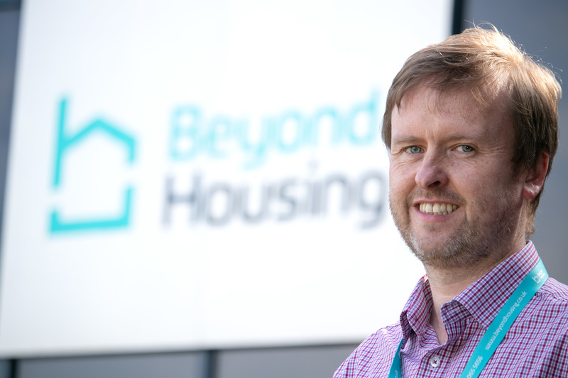 Chris Roberts, new Director of Customer Service at Beyond Housing